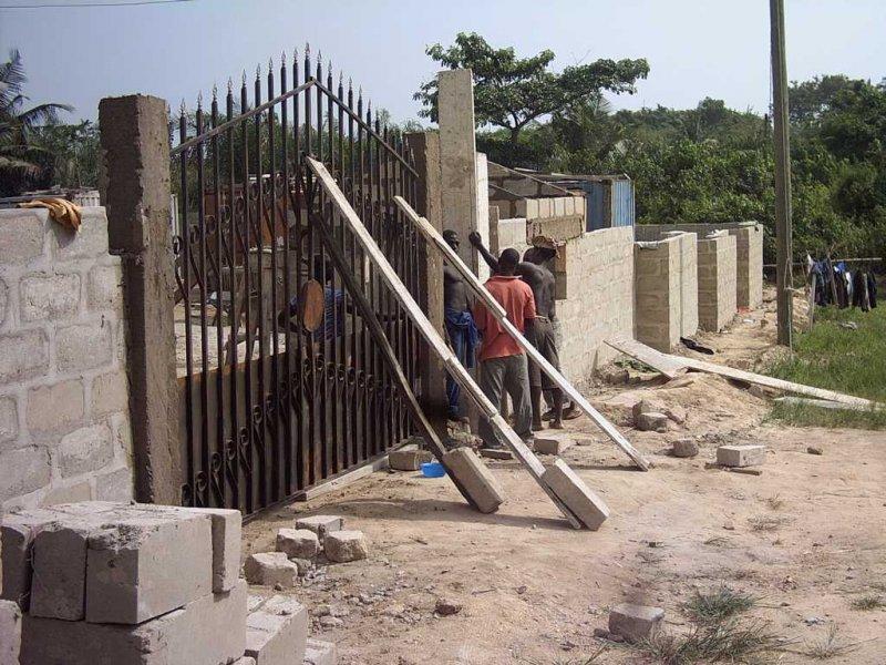 Bouw muur 1