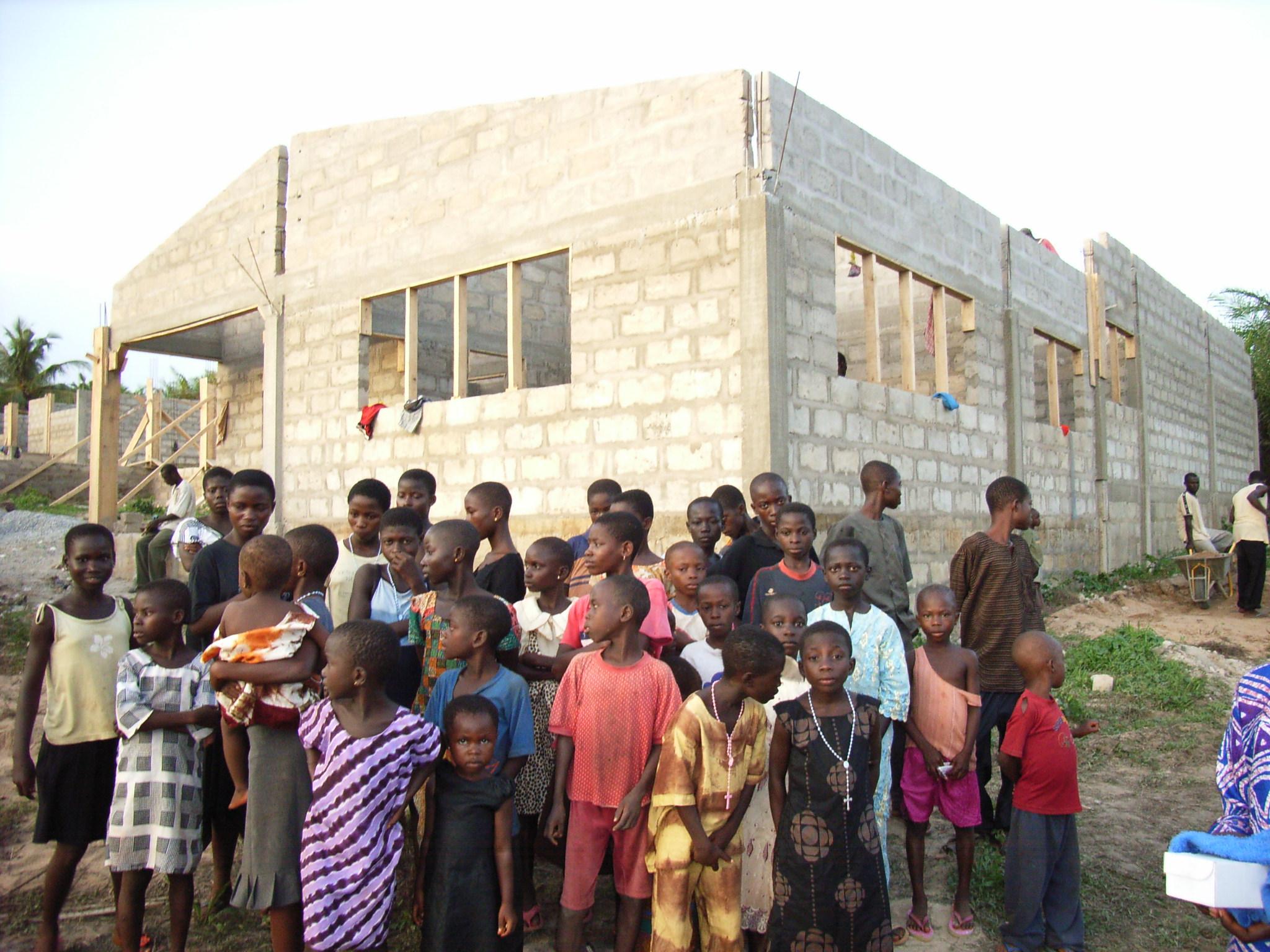 Maart/april 2007: Thea tijdens haar (werk)bezoek in Egyam (1)