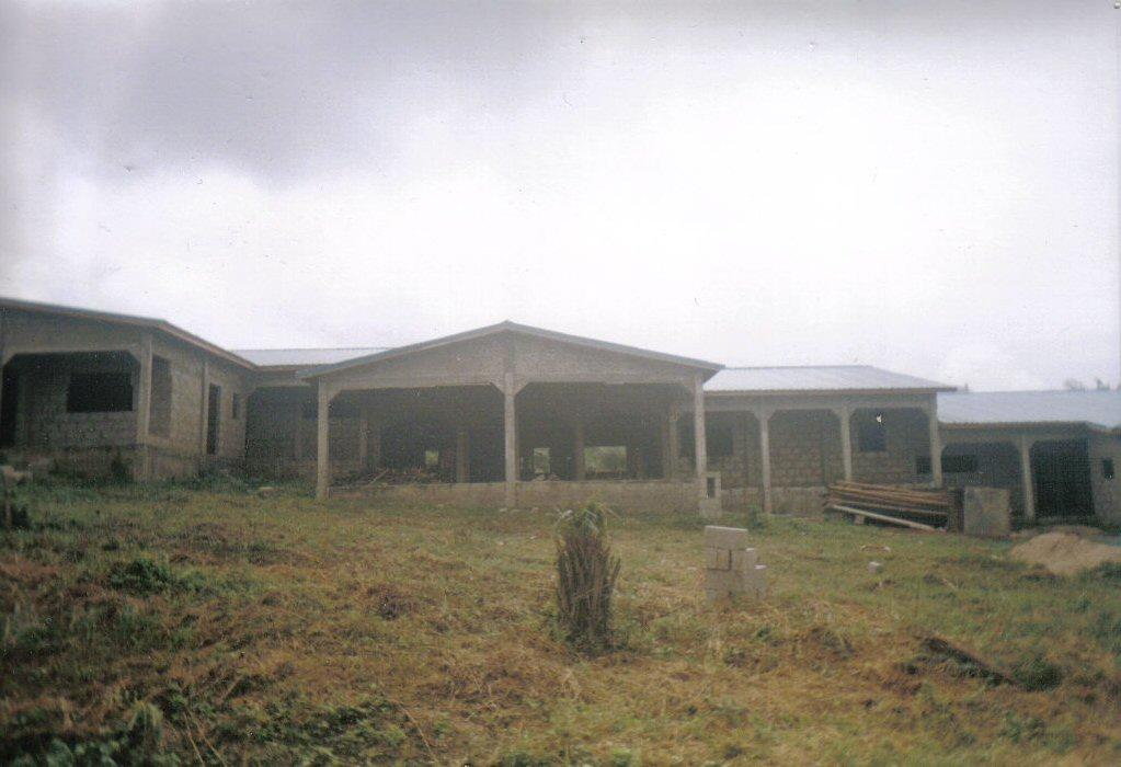 Augustus 2007: het dak zit erop!