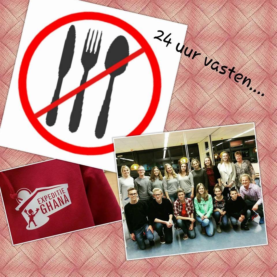 Weeshuis actie Corlaer College Nijkerk (2)