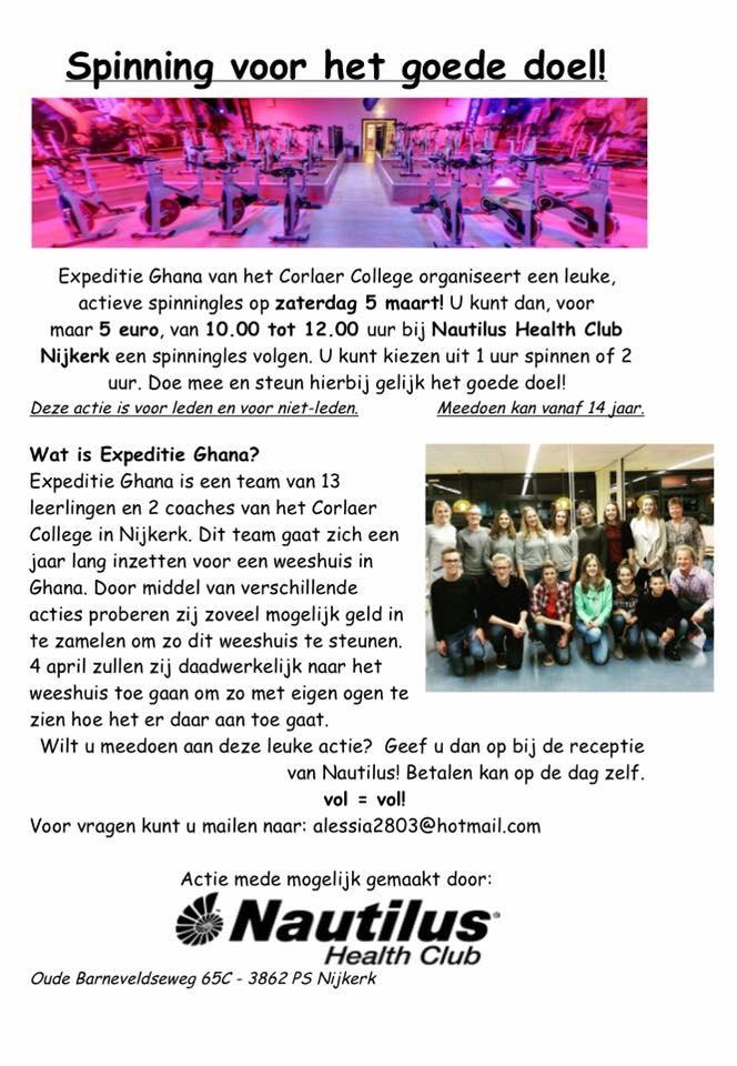 weeshuis actie Corlaer College Nijkerk