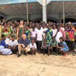Weeshuis Egyam Ghana vierde haar 10 jarig bestaan.